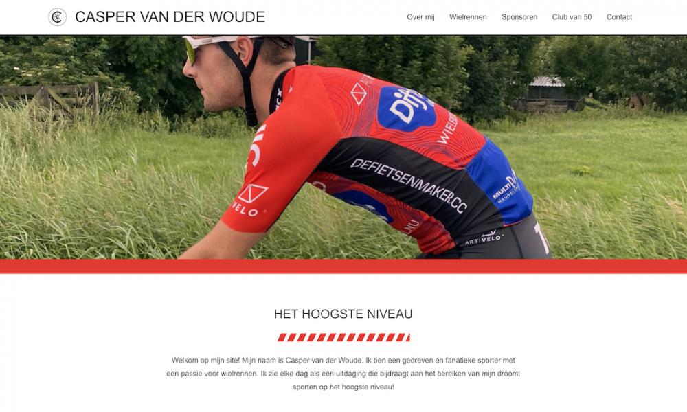 Casper van der Woude home