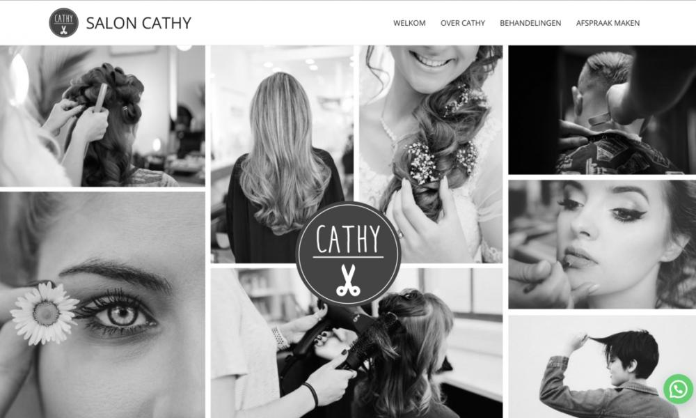 Website Salon Cathy